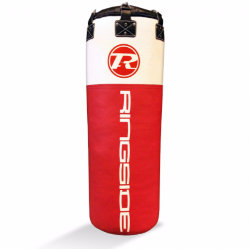 Ringside Jumbo Synthetic Leather Punchbag - Red/White